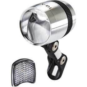 Busch + Müller Lumotec IQ-X Dynamo Front Spotlight LED silver
